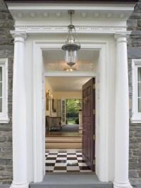 Front Door Portico | Houzz