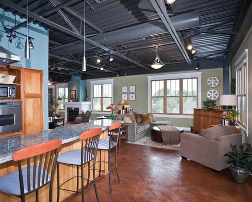 rustic pendant lighting kitchen period cabinets industrial ceiling | houzz