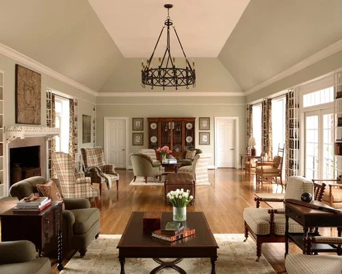 Sloped Tray Ceiling Home Design Ideas Pictures Remodel