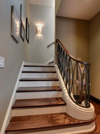 Stairwell Wall Sconces | Houzz