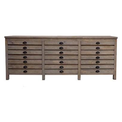 Huckleberry Reclaimed Wood Printmaker's Sideboard
