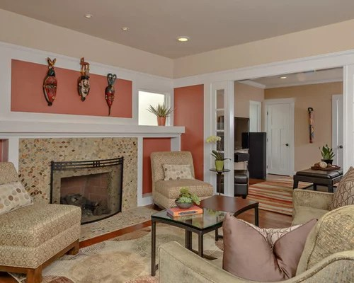 Fall Ceiling Wallpaper Salmon Color Houzz