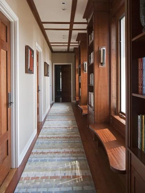 Long Hallway Houzz