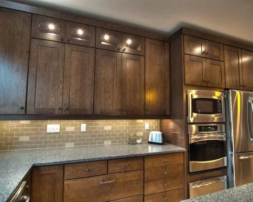 eat in kitchen island floor covering kraftmaid cognac cabinet | houzz