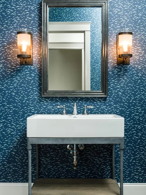 Industrial Powder Room Design Ideas Remodels Amp Photos