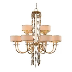 John Richard Twelve Light Counterpoint Chandelier Chandeliers
