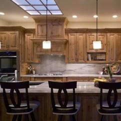 Kitchen Classics Denver Under Mount Sinks Knotty Alder Cabinets Pictures   Houzz