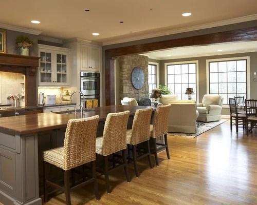 Kitchen Sitting Area  Houzz