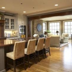 Freestanding Kitchen Island Calphalon Essentials Sitting Area   Houzz
