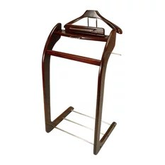 bedroom wardrobe chair valet ikea bed sleeper 50 most popular clothes valets and suit stands for 2019 houzz proman products windsor in walnut with brass hardware clothing