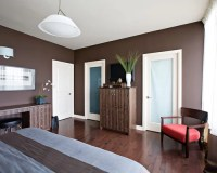 Dark Brown Walls | Houzz