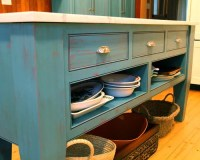 Rustic Turquoise Kitchen Design Ideas & Remodel Pictures ...
