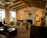 Knick Knack Shelf Living Room Design Ideas, Remodels