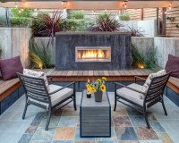 Outdoor Gas Fireplace Ideas, Pictures, Remodel and Decor