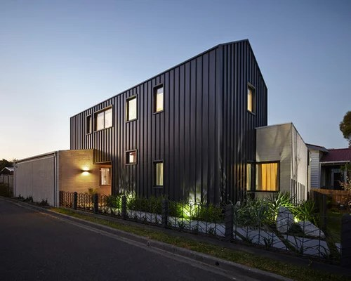 Vertical Metal Siding Houzz
