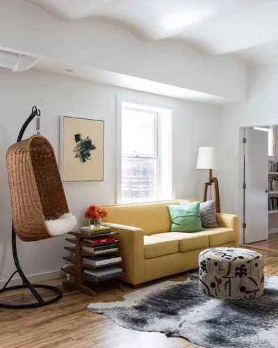 Contemporary Family Room by Young and Frances