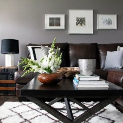 Living Room Wall Paint Finish Red Couch In Benjamin Moore Stormy Monday Ideas, Pictures, Remodel And ...