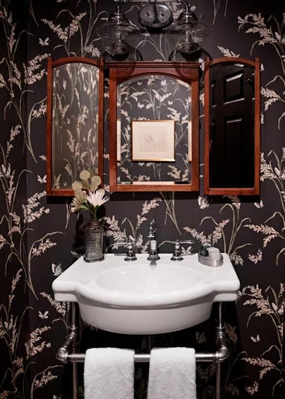 Eclectic Bathroom by Caroline Sharpnack