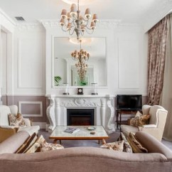 French Provincial Living Rooms 3 Piece Room Set Cheap Ideas Photos Houzz Elegant Formal And Open Concept Carpeted Photo With White Walls A Standard Fireplace