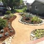 decomposed granite paths steel
