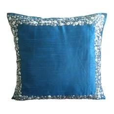 Set Of 4 Modern Geometric Cotton Linen Decorative Pillow Cover