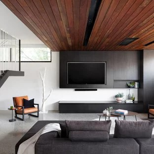 small modern living room design color for with brown furniture allan street melbourne by diplomacy