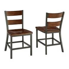 industrial style dining chairs bamboo accent chair 50 most popular room for 2019 houzz home styles furniture cabin creek set of 2