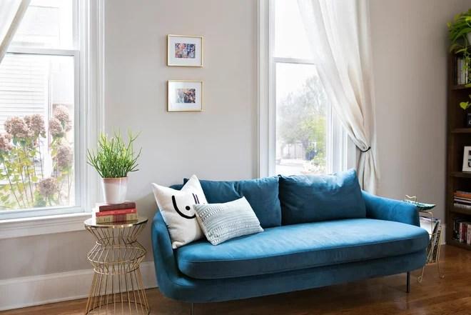 Southwestern Living Room by Caroline Sharpnack