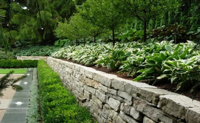 Backyard Retaining Wall Ideas Home Design Ideas Pictures
