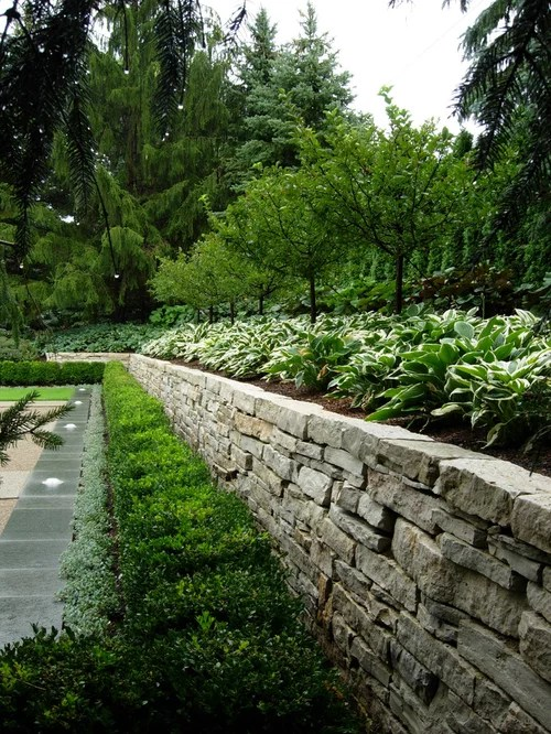 backyard retaining wall ideas home