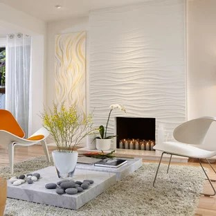 wall panels for living room colour shade card interior panel ideas photos houzz inspiration a mid sized contemporary light wood floor remodel in miami with