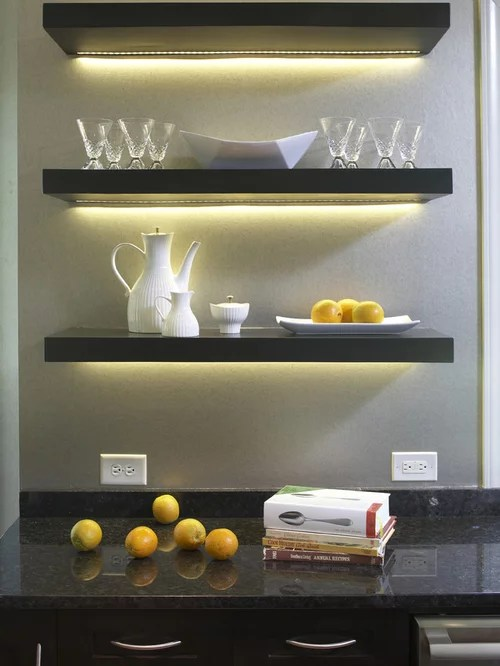 Under Shelf Lighting Design Ideas  Remodel Pictures  Houzz