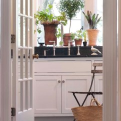 Greenery Above Kitchen Cabinets Wood Shelves Plant Ledge Home Design Ideas, Pictures, Remodel And Decor