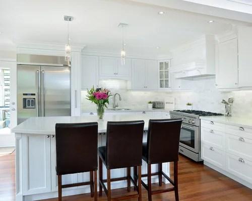 grey kitchen backsplash faucets ebay caesarstone frosty carrina home design ideas, pictures ...