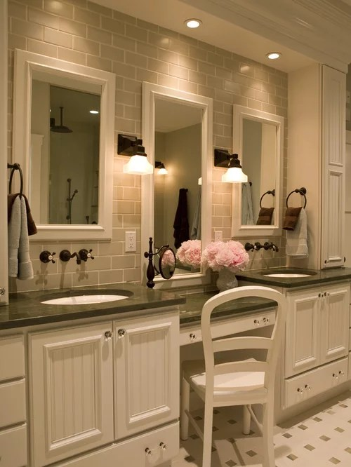 Image Of Enthralling Cottage Style Bathroom Vanities White For Beadboard Cabinet Doors With Brushed Nickel Drawer