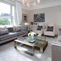 Living Room Ideas Cream And Grey Sets Uk Photos Houzz Contemporary Enclosed In London