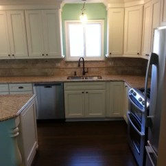 Maple Kitchen Cabinets Canisters Pottery Kraftmaid Done In Harrington Door Style ...
