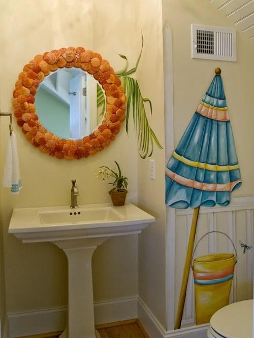 Beach Themed Bathroom  Houzz