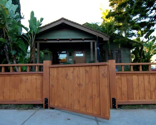 Craftsman Style Fence Ideas Pictures Remodel and Decor