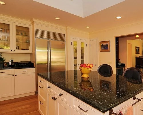 beadboard kitchen cabinets curtain rods verde butterfly granite countertop home design ideas ...