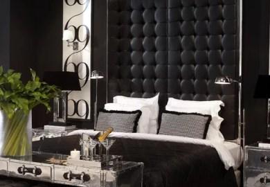 4 265 Black And Beige Bedroom Design Photos Houzz