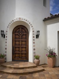 Mosaic Tile Arch Doorway Home Design Ideas, Pictures ...