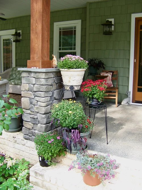 Stone And Wood Columns Ideas Pictures Remodel and Decor
