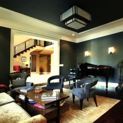 Paint For A Living Room Navy Blue Leather Furniture 9 Ways To Use Rich Dark Eclectic By Sh Interiors