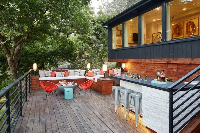 Transitional Deck by Beth Dotolo, ASID, RID, NCIDQ