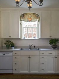 Arched Wooden Window Valance | Houzz