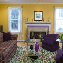 Beach House Living Room Furniture Ideas Green And Brown Decor Best Purple Yellow Design & Remodel Pictures | Houzz