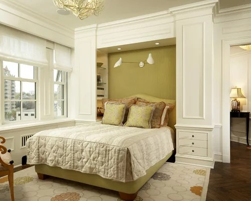 Built In Shelves Around Bed Home Design Ideas, Pictures