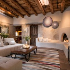Southwest Living Rooms Pillows Room 75 Most Popular Southwestern Design Ideas For 2019 Enclosed Brown Floor Photo In Albuquerque With Multicolored Walls A Corner Fireplace