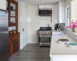 Small Kitchen Flooring Ideas, Pictures, Remodel and Decor